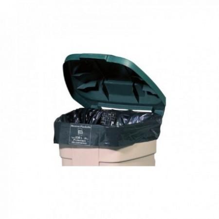 Housses container - Protection de container - PEBD Noir