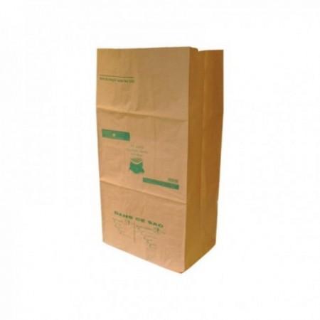 Sac kraft à déchets verts - Impression 1 couleur (cm) Brun