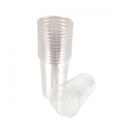 Gobelets plastique transparent 25 cl