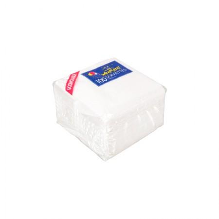 Serviettes papier blanches (cm)