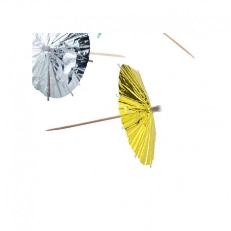 Ombrelles chinoises alu Coloris assortis