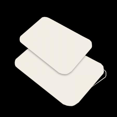 Opercules carton pour barquettes aliminium BO1500
