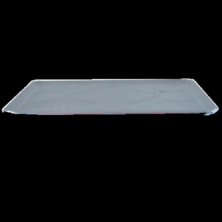 Plats aluminium à compartiments (mm)
