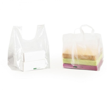 Sacs de transport boîtes pâtissières, 350/150+150x550 mm