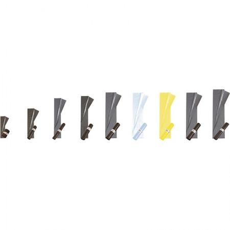 Sacs poubelle, 350/175+175x1 100 mm