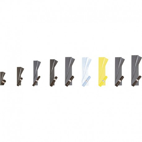 Sacs poubelle, 350/175+175x800 mm