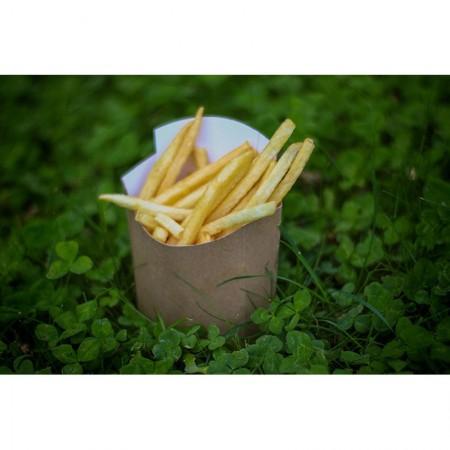 Pochettes à frites, L. 120xl. 50xh. 85 mm