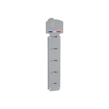 Présentoir support sacs imprimés, 200x789 mm