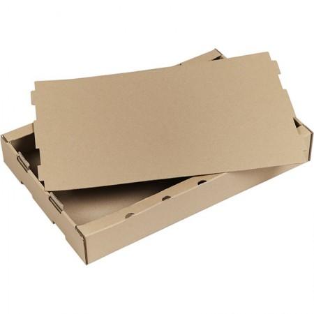 Cagettes carton, 655x420 mm