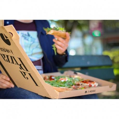 Boîte pizza, L. 260xl. 260xh. 35 mm