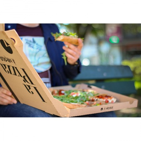 Boîte pizza, L. 330xl. 330xh. 35 mm