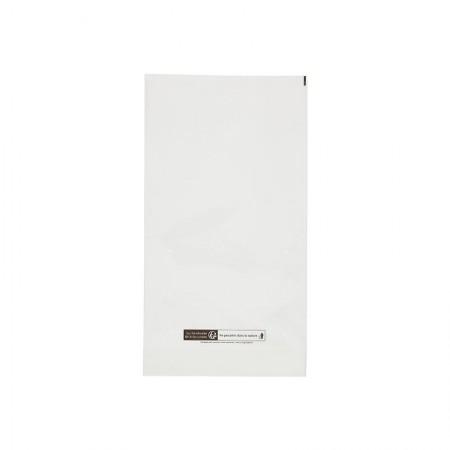 Sacs PP plastique 50µ, 250x460 mm (SF 40+40 mm)
