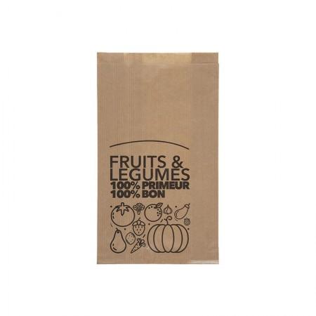 Sacs fruits et légumes traités WS, 200/30+30x300 mm