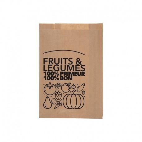 Sacs fruits et légumes traités WS, 240/35+35x350 mm