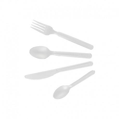 """Cuillères à soupe """"BIO"""", L. 158 mm"""
