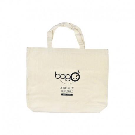 Totebag bagO coton, 500x400 mm (SF 44+44 mm)