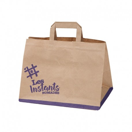 Fun Food Bag, 320/107,5+107,5x240 mm