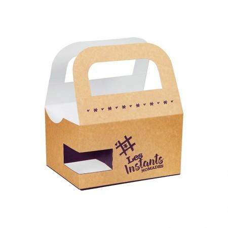 Fun Food Box, L. 210xl. 150xh. 120 mm