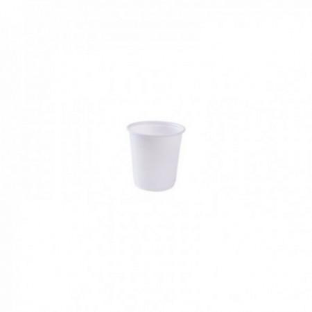 Gobelets plastique blanc 8/10 cl