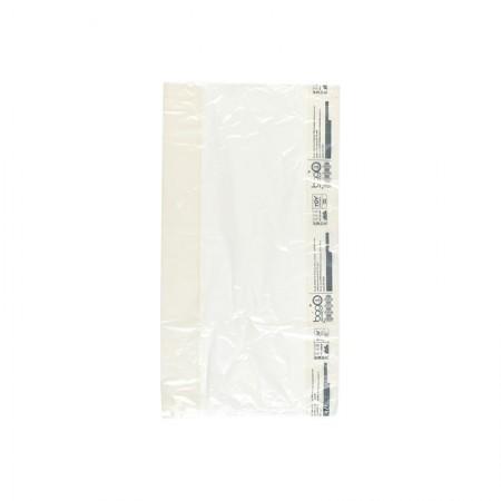 """Sacs bagO """"Pur"""" Plastique Biosourcé, 230/40+40x420 mm"""
