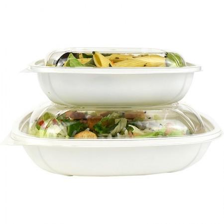 Bols à salades bio, L. 160xl. 160xh. 38 mm