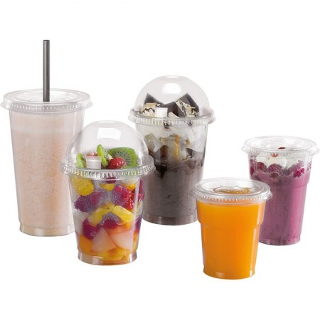 Couvercles Smoothie Servipack, Ø 95xh. 11 mm