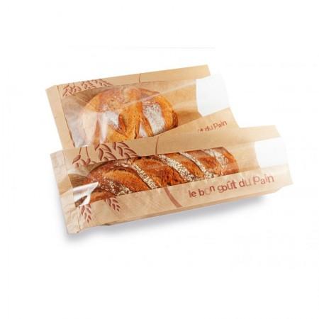 Sacs traditionnels pain à fenêtre, 90/32,5+32,5x600 mm
