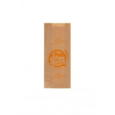 Sacs papier kraft brun, 140/30+30x350 mm