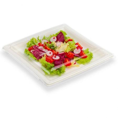 Assiettes Quadripack, L. 245 x l. 245 x h. 30 mm