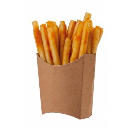 Pochettes à frites, L. 81/70xl. 49/43xh. 71/122 mm