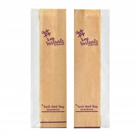 Sacs sandwich ingraissables - 100/30+30x340 mm