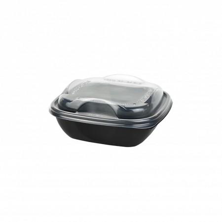Boite Deliverypack + couvercle translucide - L. 146xl. 146xh. 44 mm