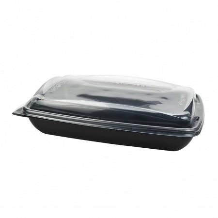 Boite Deliverypack + couvercle translucide - L. 232xl. 172xh. 39 mm