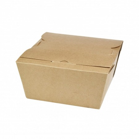 Box avec couvercle charniere - L. 141xl. 137xh. 82 mm