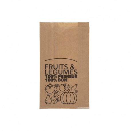 Sacs fruits et legumes 2 kg - 200/30+30x300 mm