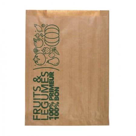 Sacs fruits et legumes 3kg - 250/27,5+27,5x350 mm