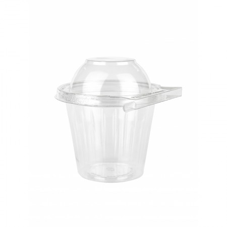 Coupe + Couvercle Dome Securite - L. 114xh. 116 mm