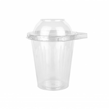 Bol Salade + Couvercle Dome Securite - L. 114xh. 140 mm