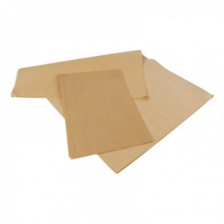 Feuilles mousseline kraft brun - Sans impression (mm)
