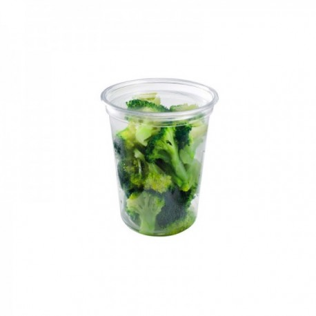 """Pots à salade Fraîcheur, couvercle séparé"""" 240 ml"""""""