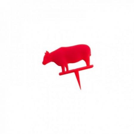 Piques steak saignant Rouge