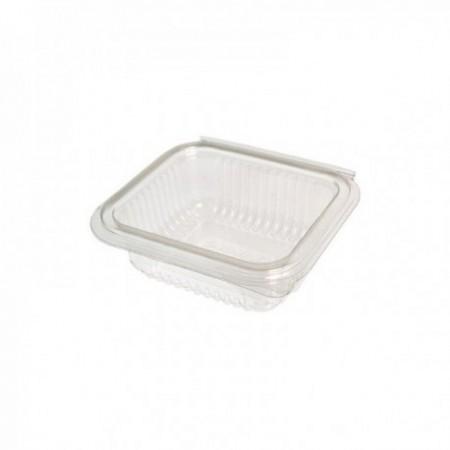 Boîtes à couvercle attenant PET - Utilisation froide (mm) 500 cc