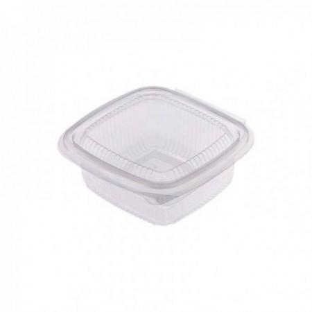 Boîtes à couvercle attenant PET - Utilisation froide (mm) 250 cc