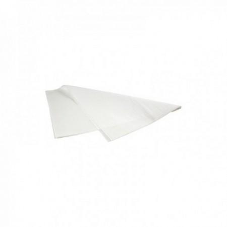 Feuilles papier kraft blanc enduit 1 face, pure pâte