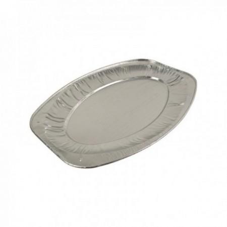 Plats de présentation aluminium plissé (mm) 875 cc
