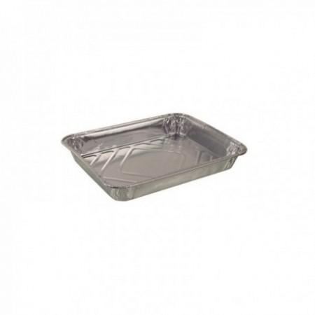 Plats aluminium 1 compartiments - 227 x 176 x 30 mm