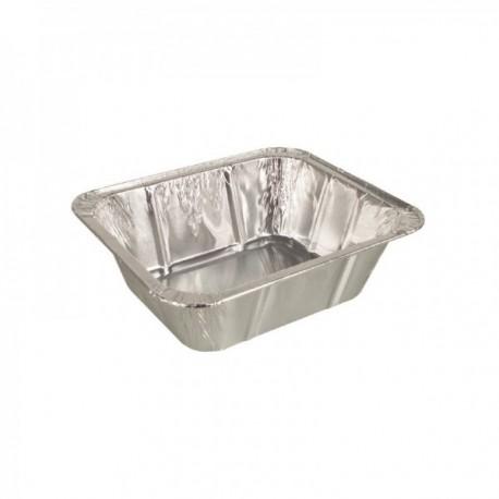 Barquettes aluminium à bords roulés (mm) 275 cc