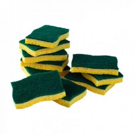 Abrasifs sur éponges végétales (mm) Vert