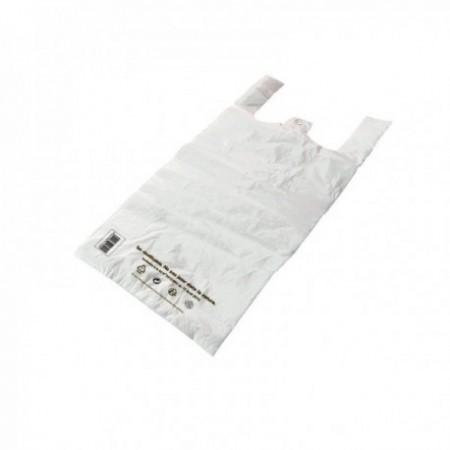 Sacs bretelles Caisses réutilisables PEMD Blanc 25 L